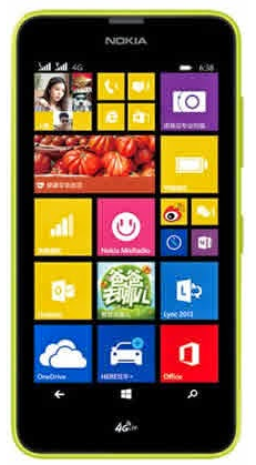 Nokia Lumia 638 Windows