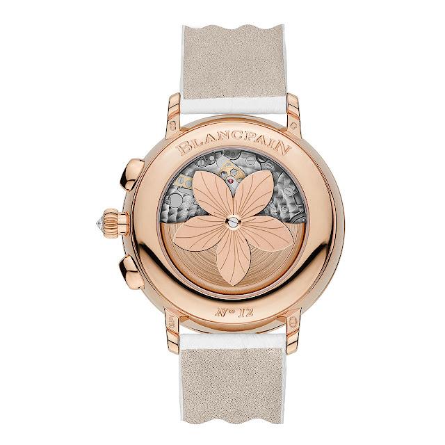Blancpain Collection Women, Chronographe Grande Date Watch back