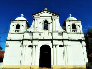 Nova igreja da Redução Jesuítica de Santiago, Paraguai
