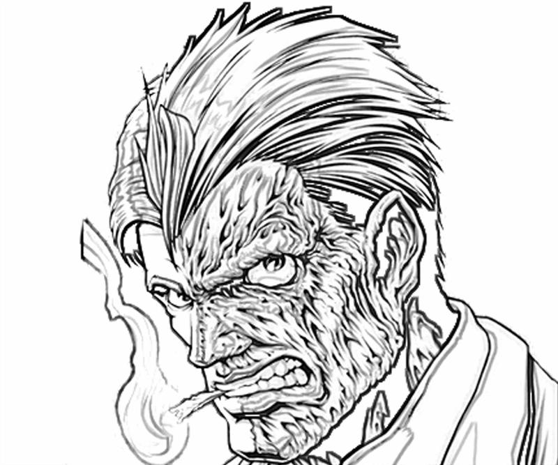 batman-arkham -city-two-face-character-coloring-pages