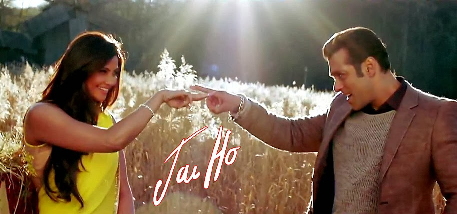 Salman Khan and Daisy Shah in a Jai Ho movie still