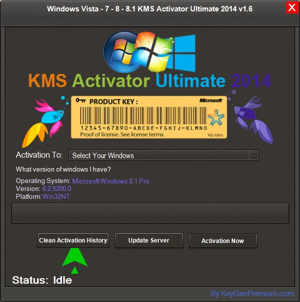 activation key safe 2014