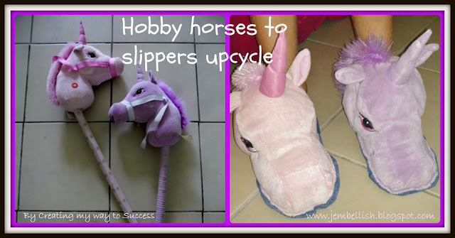 Soft Toys to Slippers Upcycle