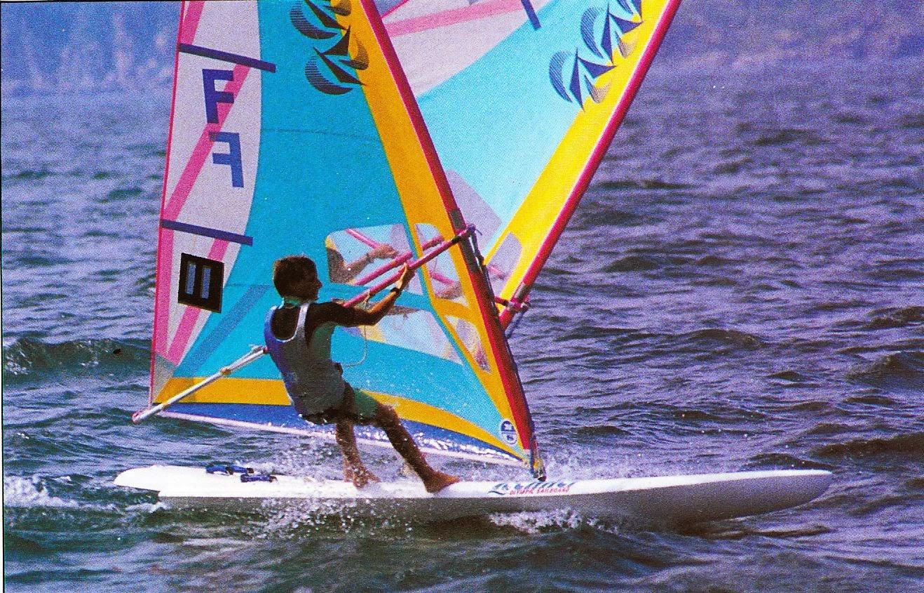 Planche A Voile Open Division 2 Les Jo De 1988 En Planche A Voile Open Lechner Sont A Decouvrir