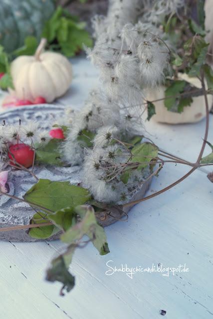 Shabby chic Vintage Herbst Dekoration