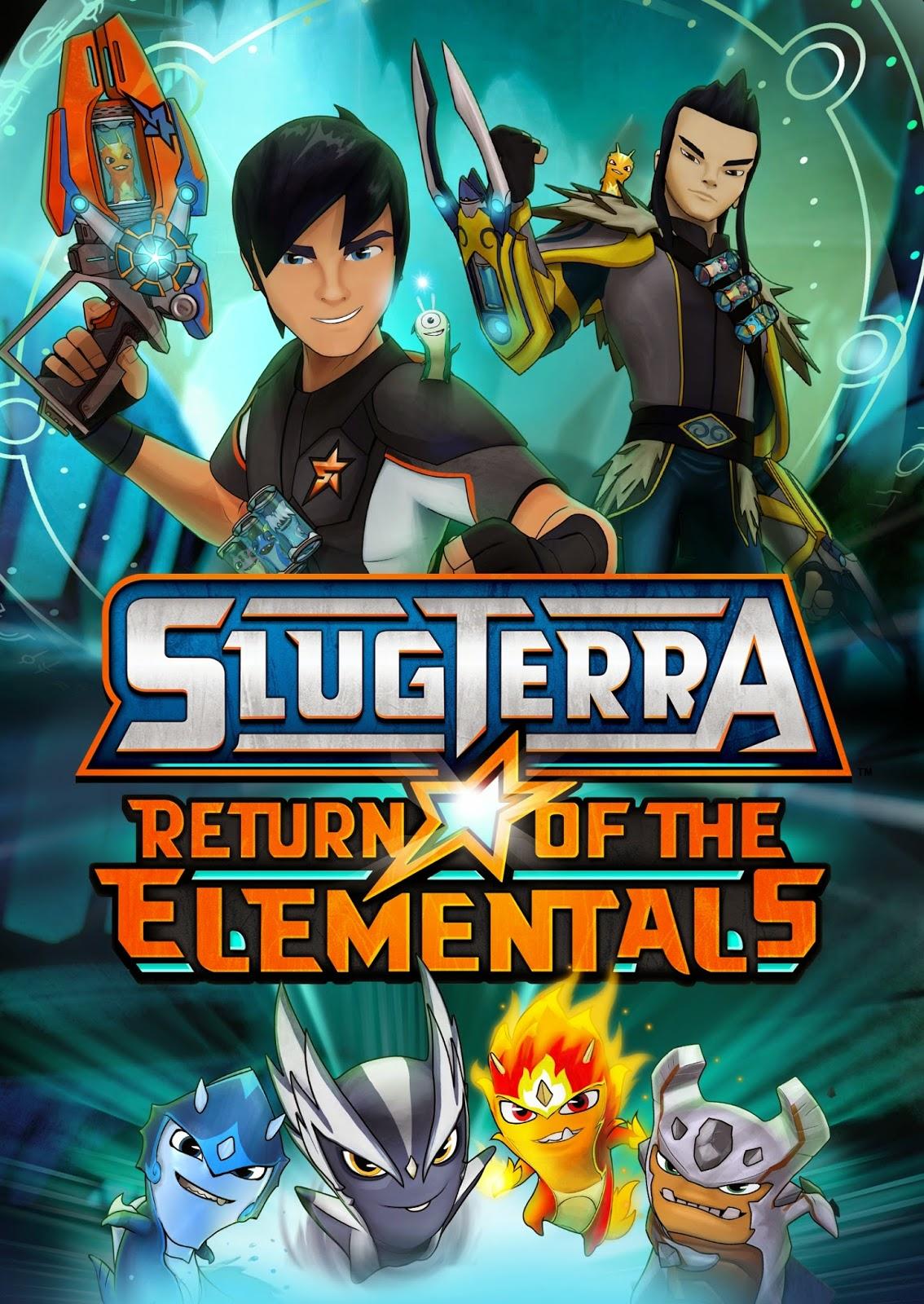 Slugterrâneo 2: O Retorno dos Elementais – Dublado (2014)