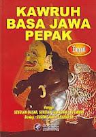 toko buku rahma: buku KAWRUH BASA JAWA PEPAK, pengarang sugeng haryo raharjo, penerbit widya karya