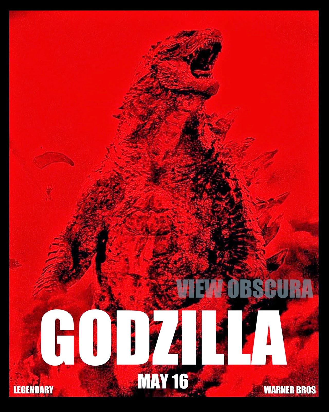 godzilla 2014 godzillas rampage version b poster print - Godzilla Pictures To Print