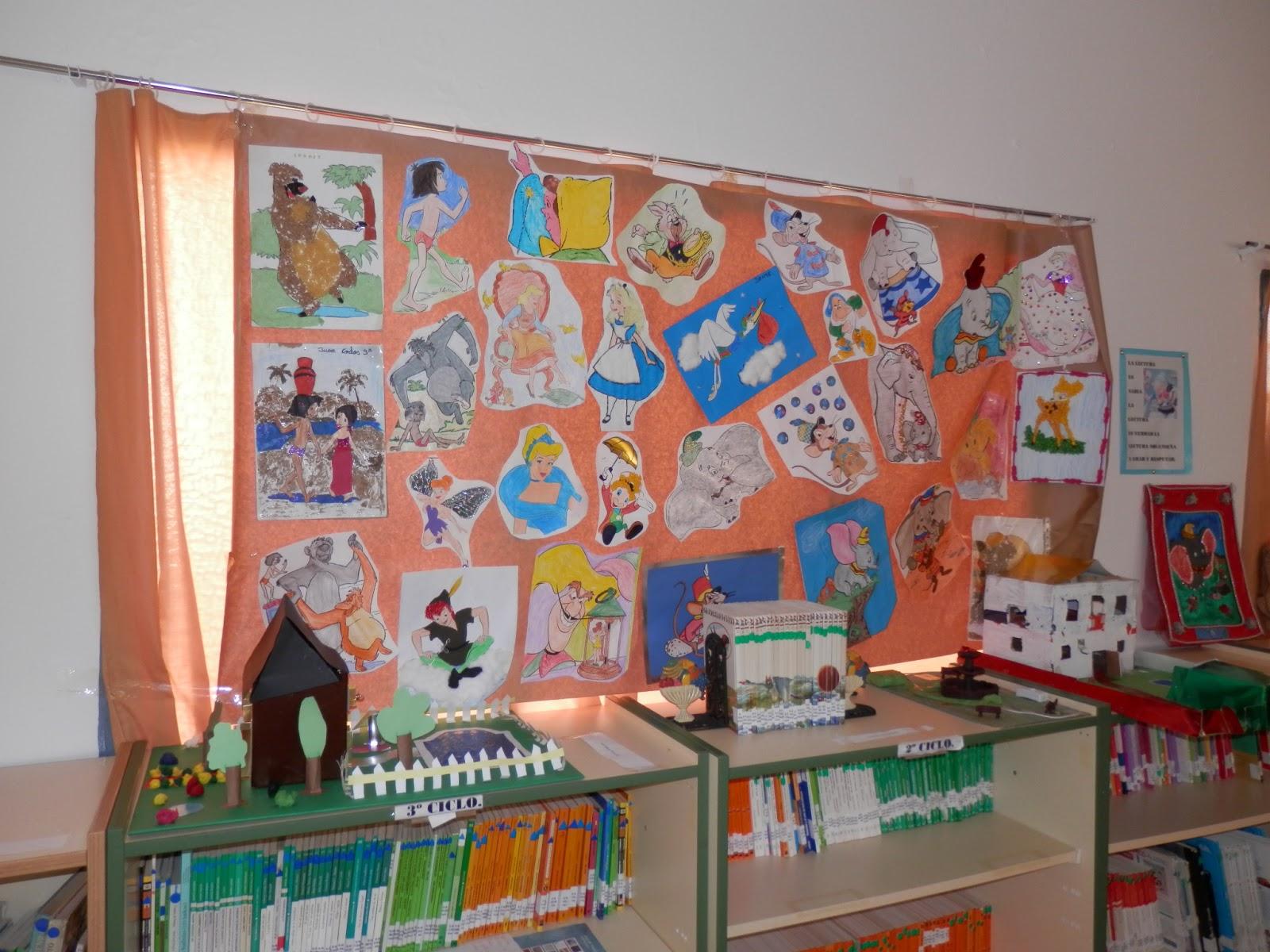 biblioteca escolar ceip pablo picasso decoraci n de la