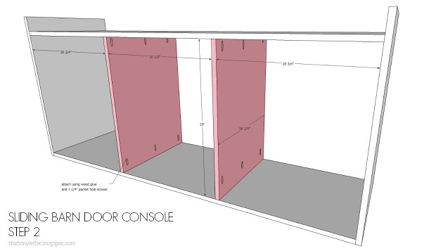 diy console dividers