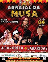 CLUBE TAMARINDUS - ARRAIAL DA MUSA.