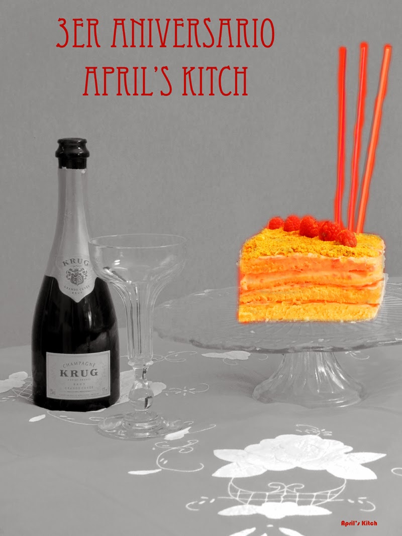 Concurso 3 años April's Kitch