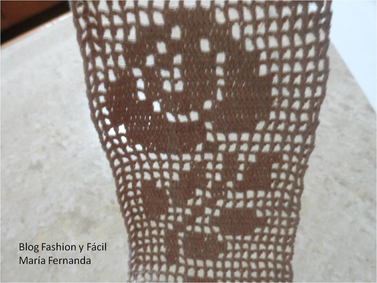 Fashion y f cil c mo hacer una puntilla tejida a - Hacer puntillas de ganchillo ...