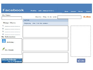 one less headache: fabulous freebies: freebies with a facebook theme!, Powerpoint templates
