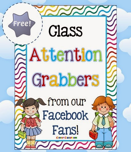FREE Class Attention Grabbers from our Facebook Fans