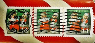 North Pole Stamps