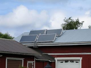 rendimiento de los paneles solares