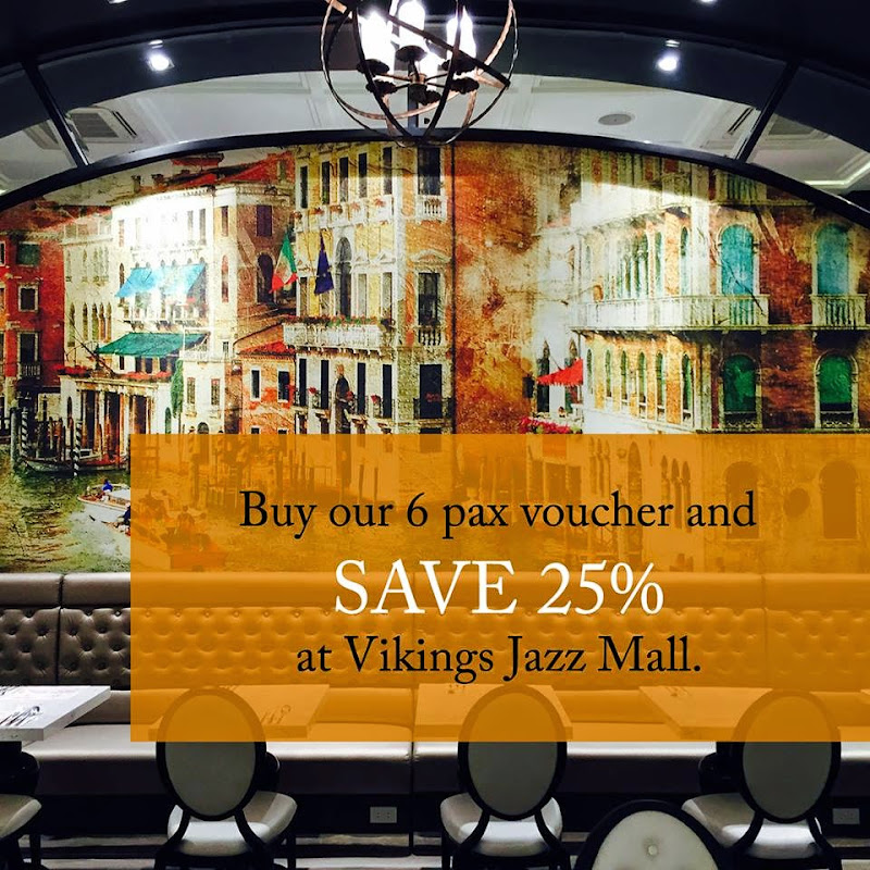 Buffet Restaurants in Makati Vikings Luxury Buffer at SM Jazz Mall