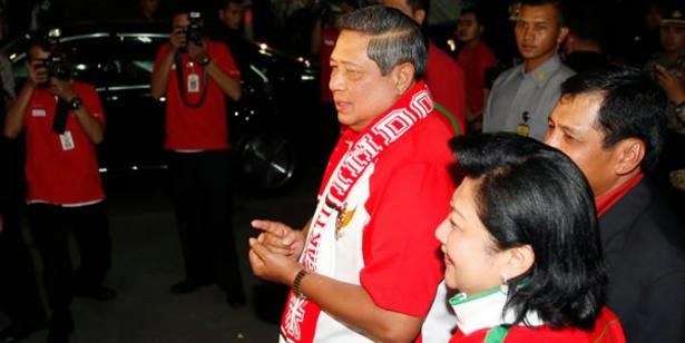 Garuda Muda dapat Ucapan Selamat dari Presiden SBY