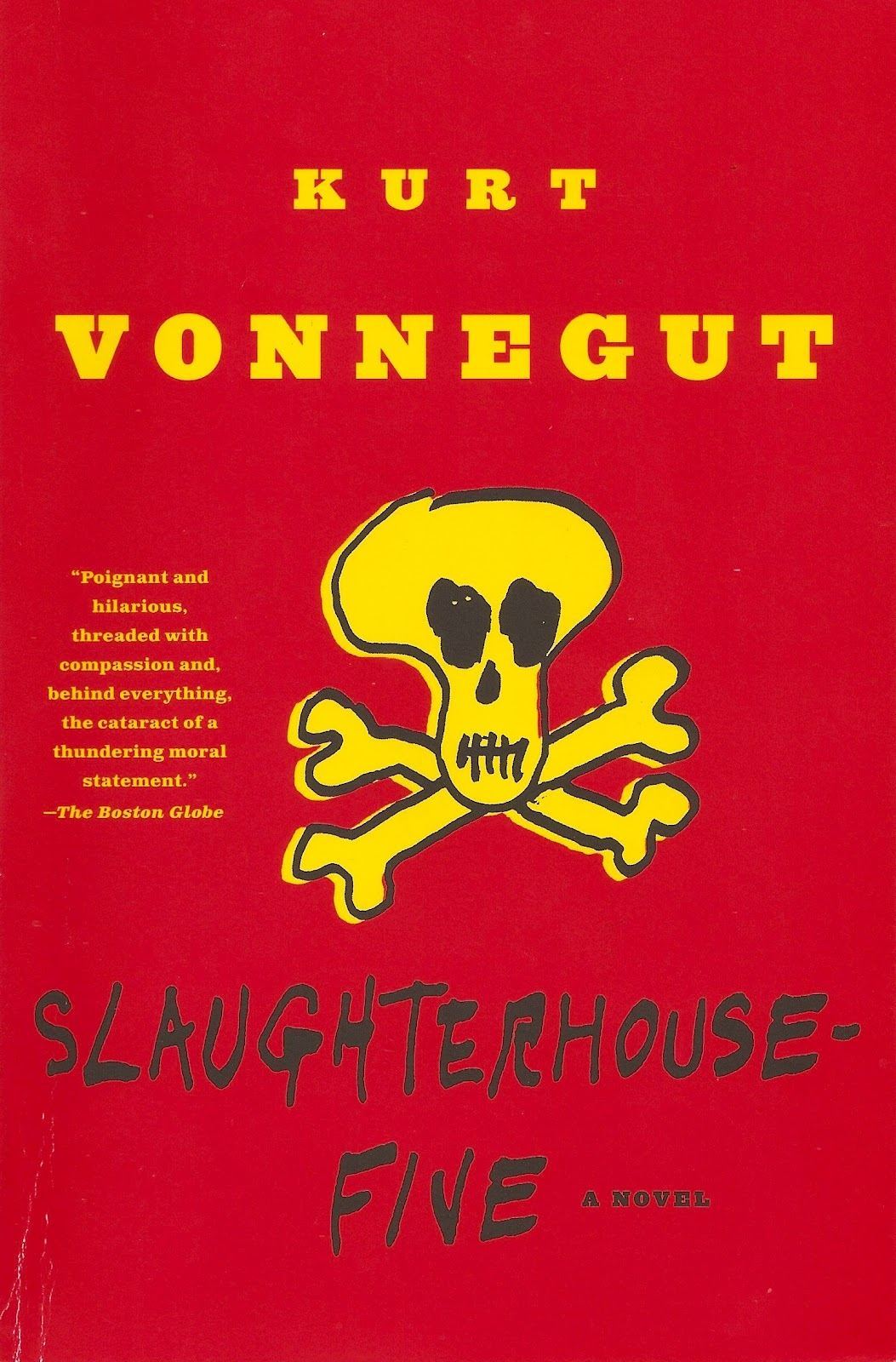 "critical essay example of slaughterhouse five The novel ""slaughterhouse-five or the children's crusade"" was released at the height of antiwar sentiment, becoming the literary manifesto of american society in the fight against the vietnam war."