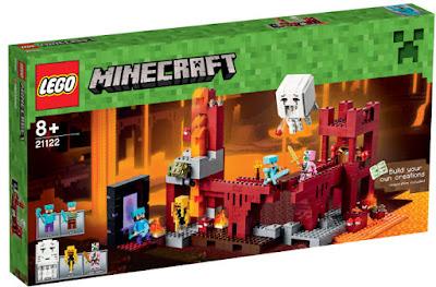 TOYS : JUGUETES - LEGO Minecraft  21122 La Fortaleza del Infierno | The Nether Fortress  Producto Oficial 2015 | Piezas: 571 | Edad: +8 años  Comprar en Amazon España& buy Amazon USA