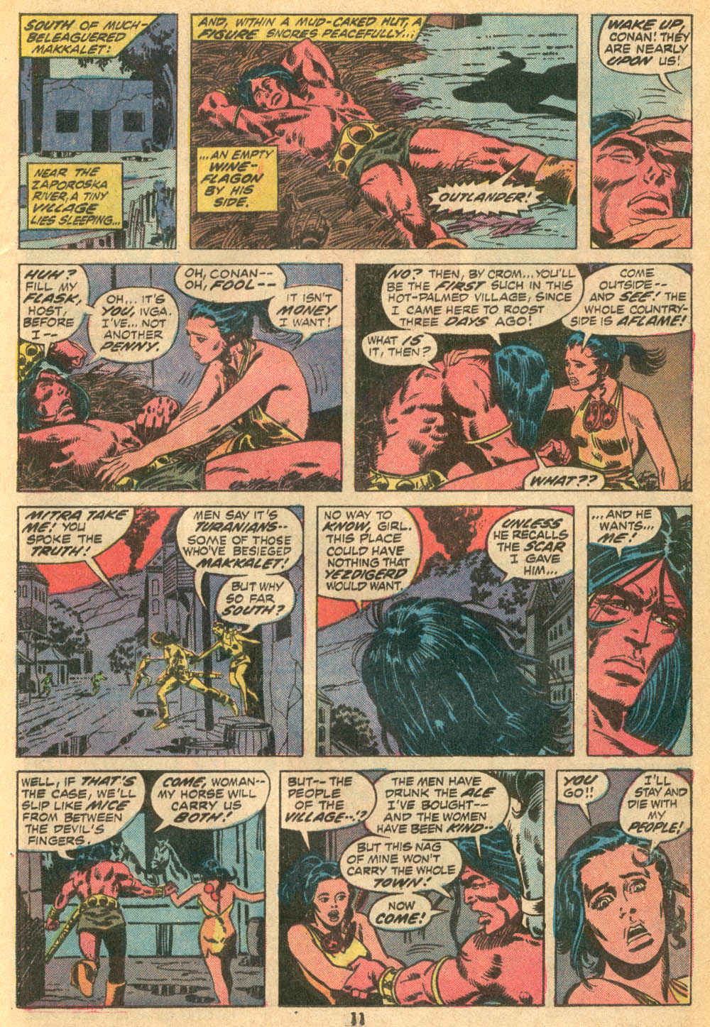 Conan the Barbarian (1970) Issue #23 #35 - English 9