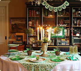 Eight St. Patrick's Tablescapes