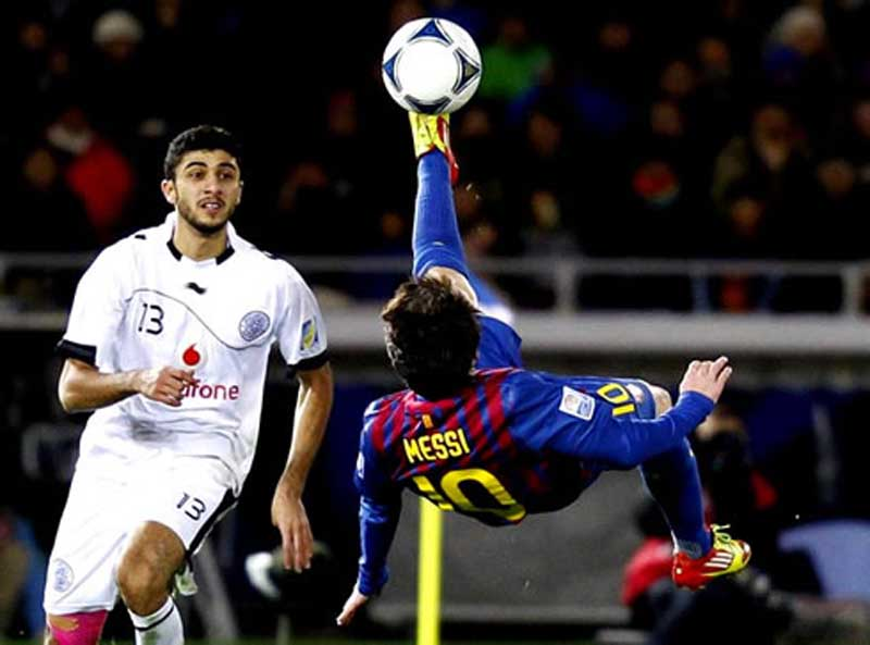collection of lionell messi bicycle kick foto moment