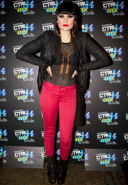 One Honey Boutique Celebrity Style File Jessie J
