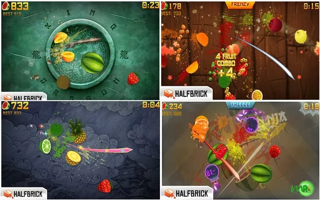 Fruit Ninja android 1.9.5 paid version screenshot