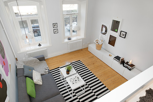 Small Loft Apartment Living Room