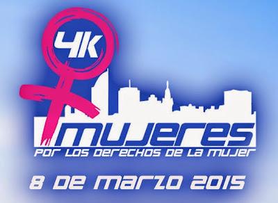 4k por el Día internacional de la mujer (IMM - Montevideo - 08/mar/2015)