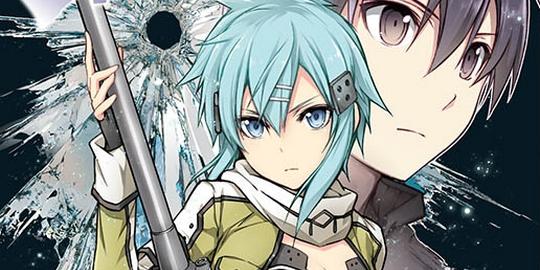 Actu Manga, Critique Manga, Manga, Ototo, Reki Kawahara, Sword Art Online, Sword Art Online II : Bullet Phantom,