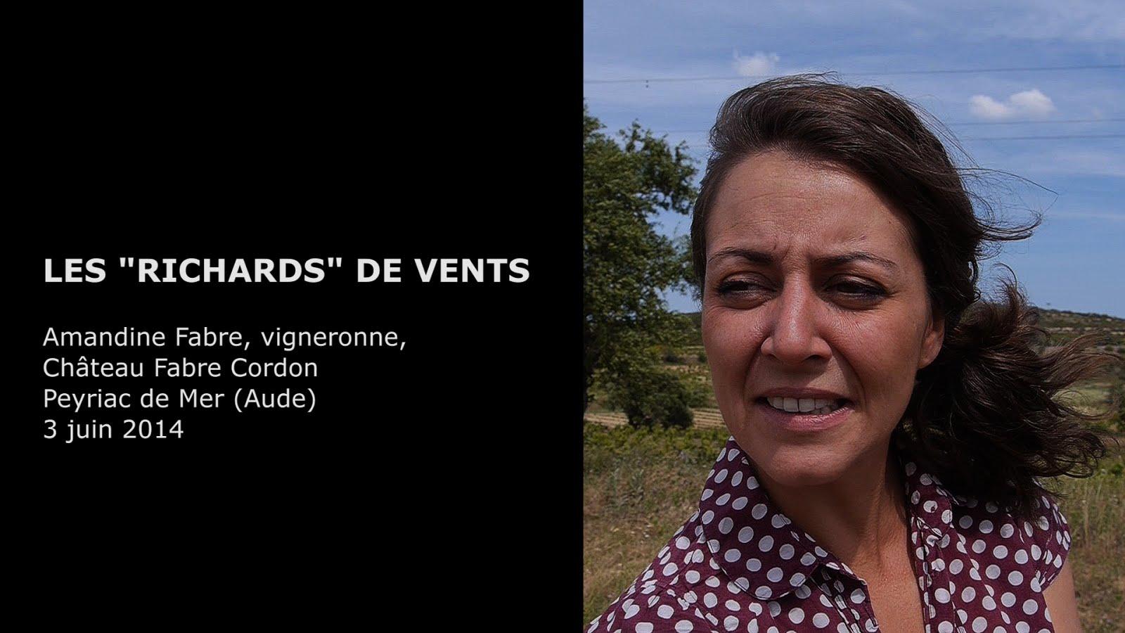 Amandine Fabre, vigneronne