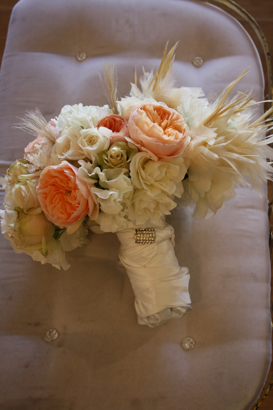 Bridal Bouquet Design: Great Gatsby Photo Shoot for Vainglorious ...