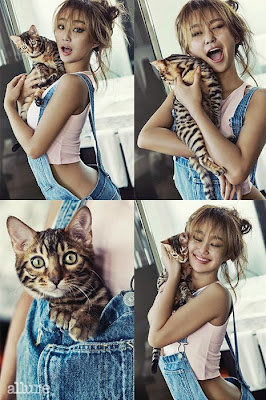 Hyorin SISTAR - Allure Magazine April Issue 2015