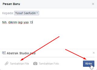 Mengirim File di Dinding Facebook