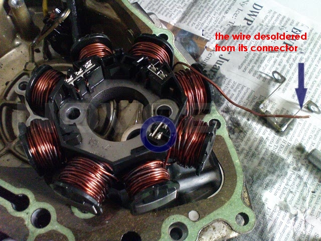 Motorcycle charging for hid full wave conversion techy at day all windings must not touch the body of the stator full wave will have its own ground via the bridge rectifier of the full wave regulator cheapraybanclubmaster