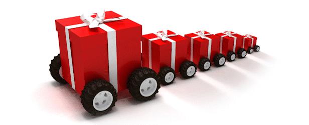 christmas arrival