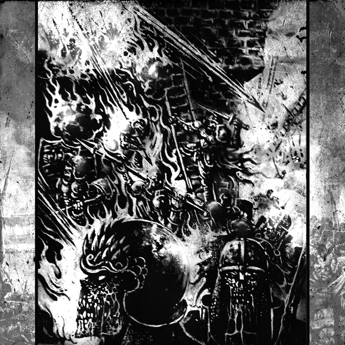 Popiel - Undying Insurmountable Chaos - Full Demo Stream + Release Information.