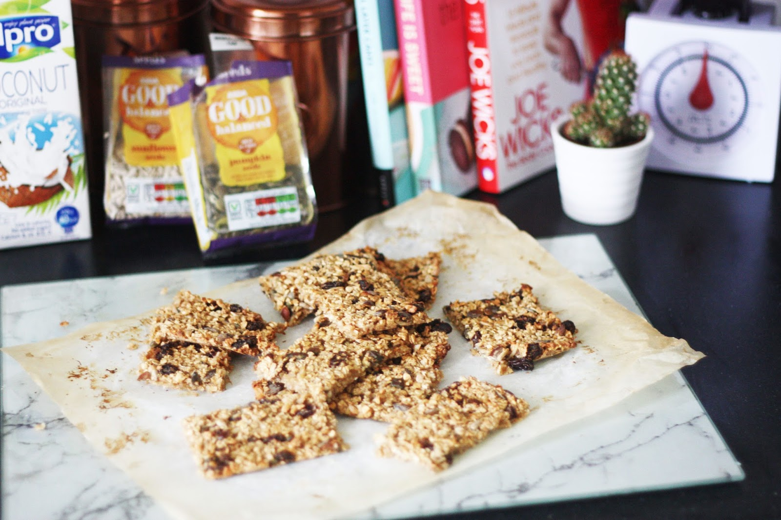 recipe for healthy flapjacks fruit and nut fruit market