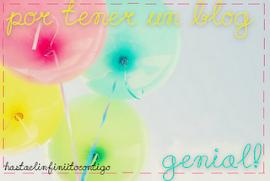 Premio Blog Genial