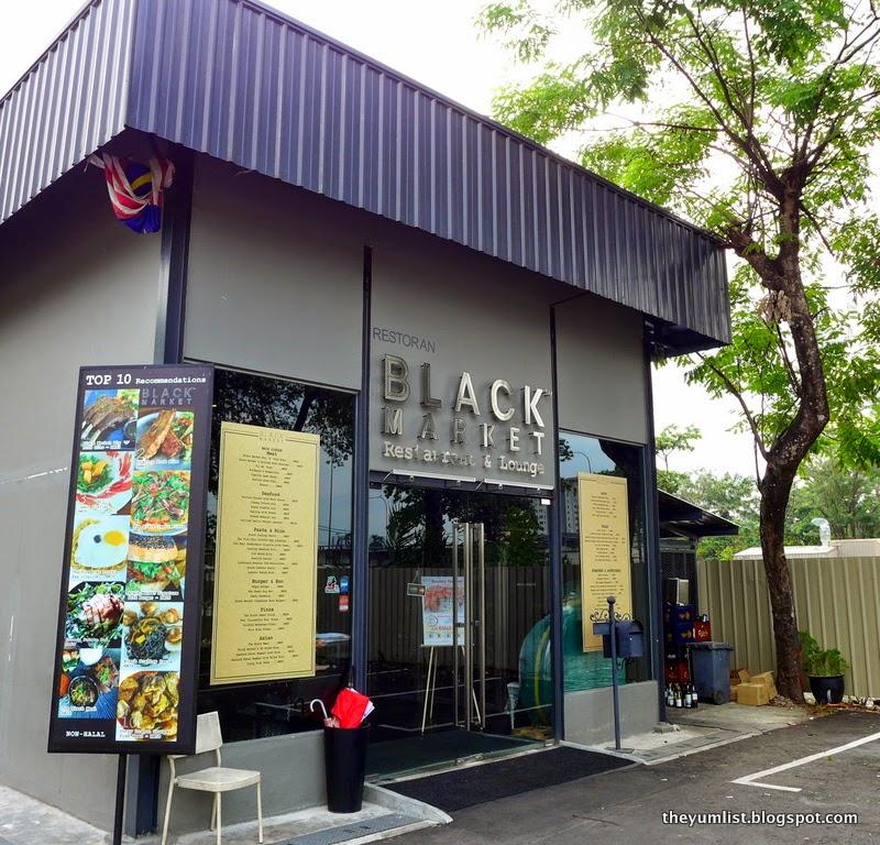 Black Market, Pork, Crab, Breakfast, Kuala Lumpur, non-halal