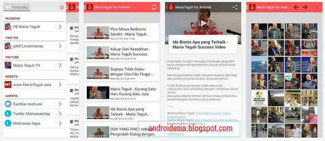 Aplikasi MarioTeguh for Android