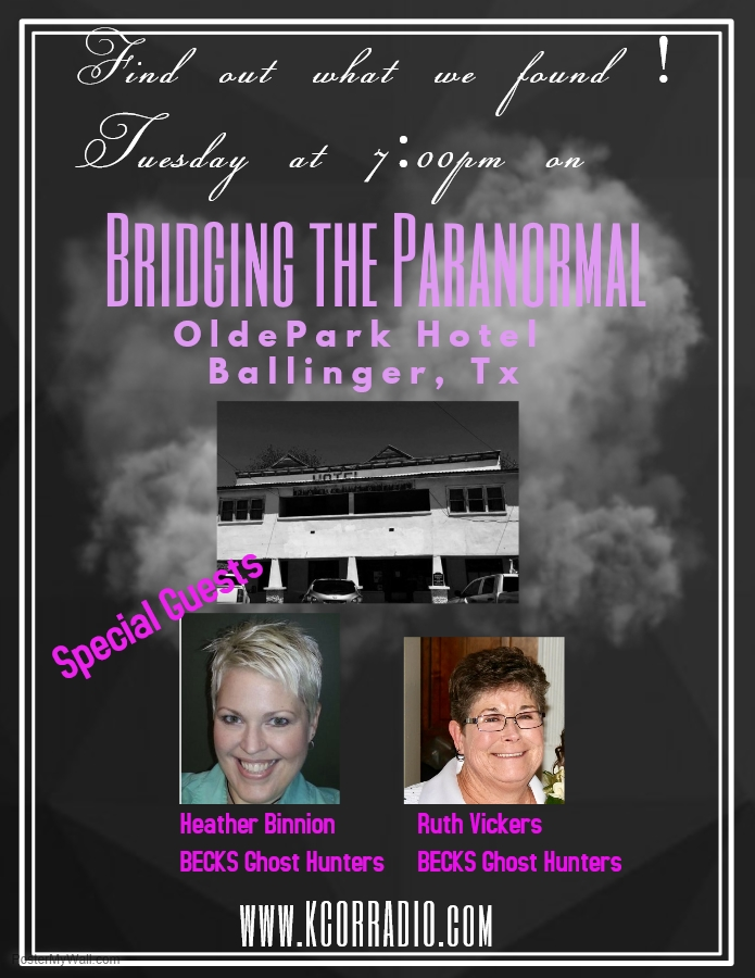 BRIDGING THE PARANORMAL