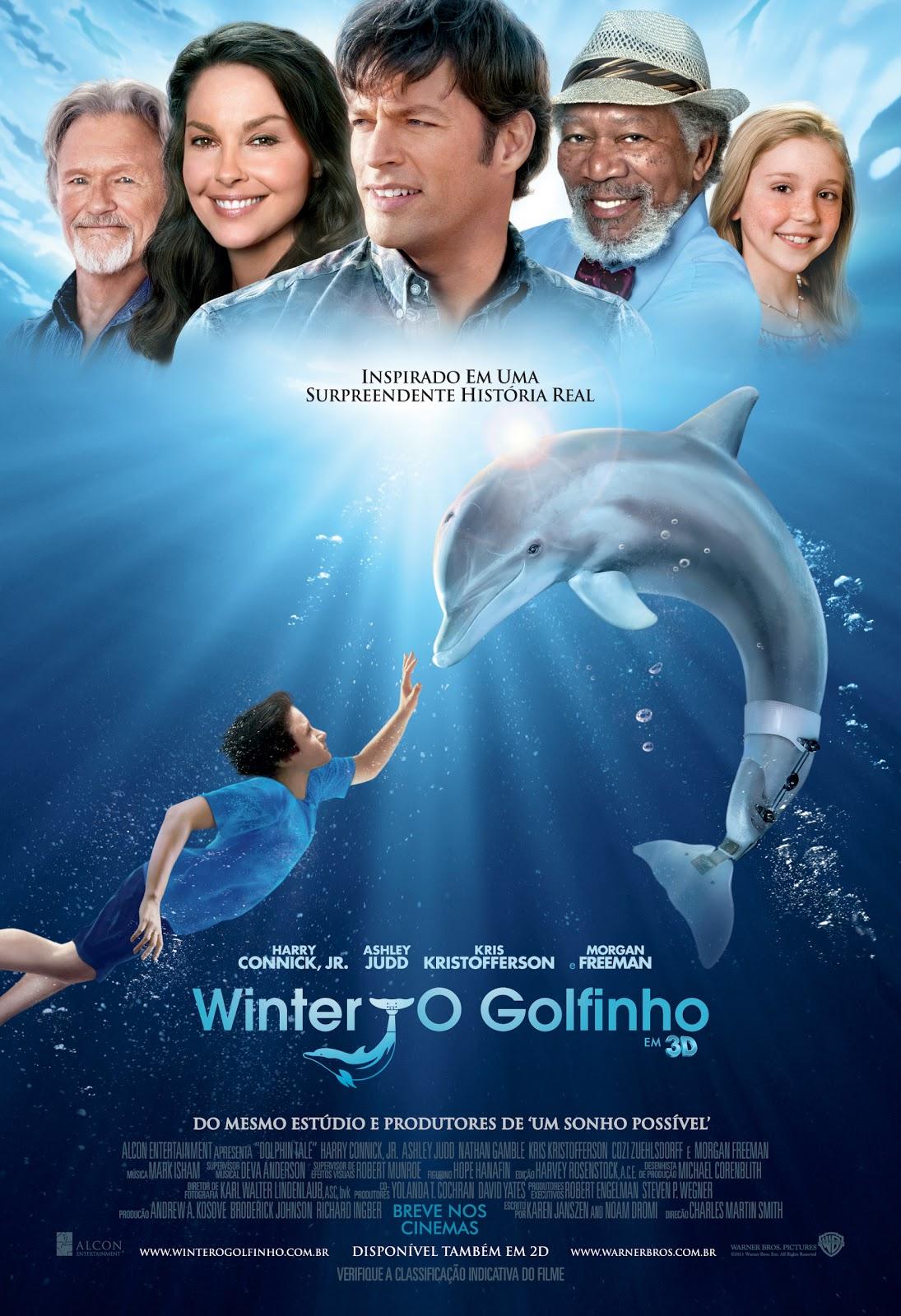Capa Winter, O Golfinho Torrent 720p 1080p 4k Dublado Baixar