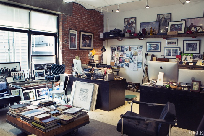 Glamboyemman vogue takes us inside rag bone headquarters for Office design publications