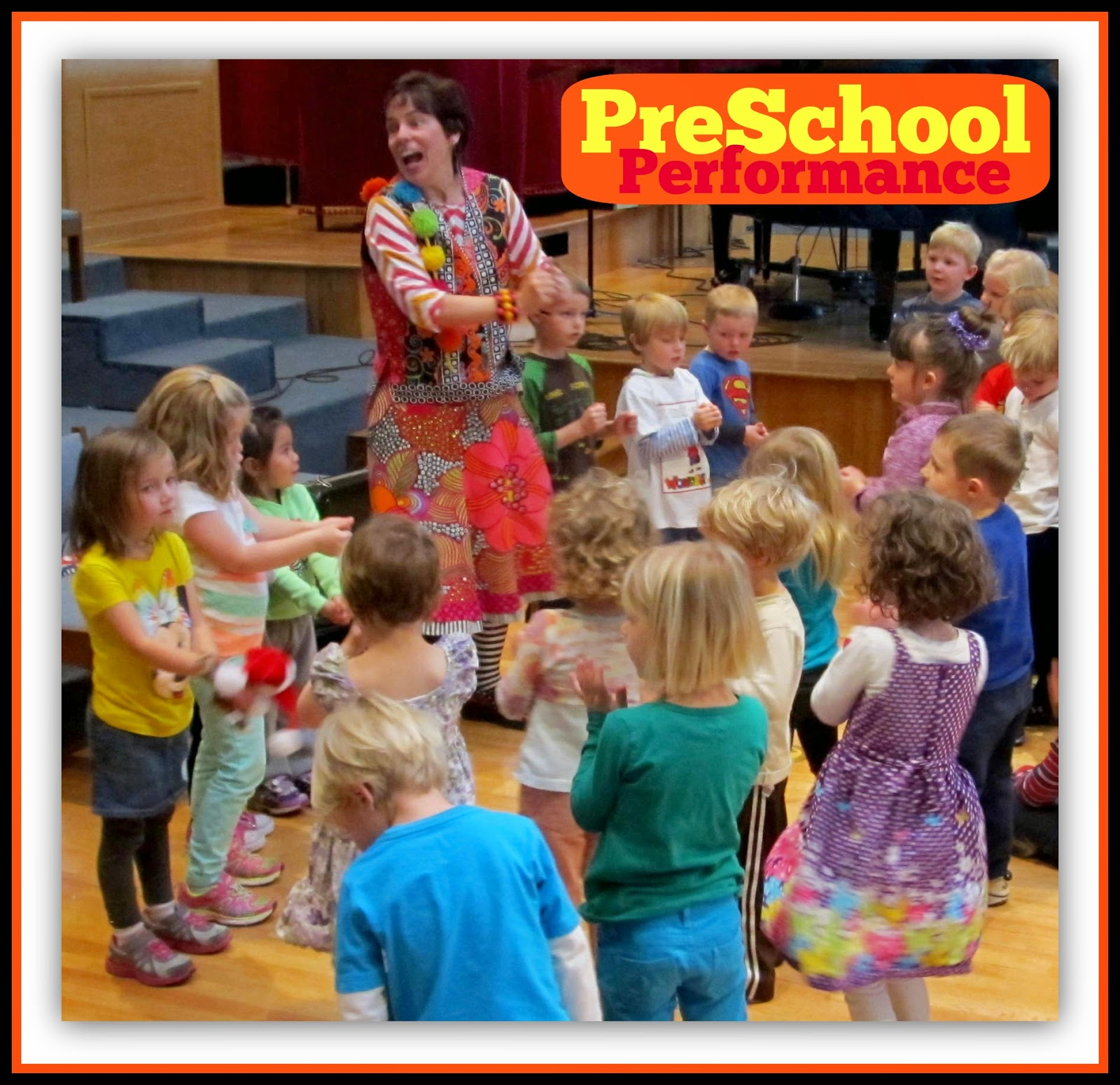 Debbie Clement Performs at Preschool!