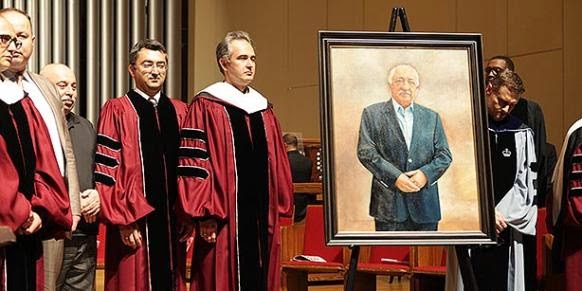 Fethullah Gulen was given the 2015 Gandhi King Ikeda Peace Award