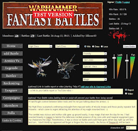 WFB - Add Battles, notes and links